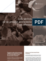 Mitos Prision Preventiva Mexico
