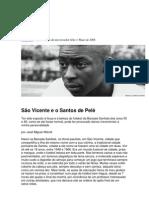 WISNIK Jose Miguel - São Vicente e o Santos de Pelé