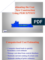 Estimating the Cost of New Construction