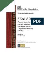 Seals 15