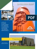 Catalogo Senati 2007