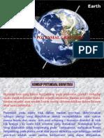 Potensial Gravitasi Bumi