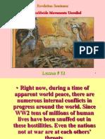 Lesson 12 Revelation Seminars -Two Worldwide Movements Revealed