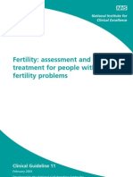 Fertility Summary