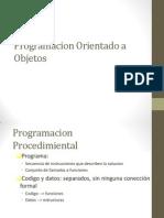 Programacion - Orientacion a Objetos