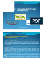 Hidrogeologia en Venezuela