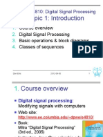 Signal Processing Columbia