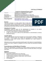 Tocolysis for TPL
