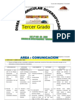 DIVERSIFICACIÓN TERCER GRADO