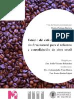estudio del café