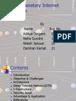 Interplanetary Internet Network (Ipn)