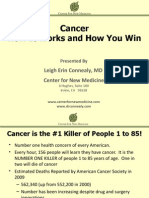 Cancer How It Works and How You Win