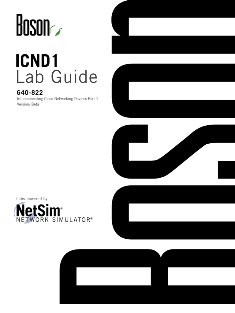 icnd 1dsds promo lab guide dadsada cisco certifications router rh scribd com Boson Particle Gauge Boson