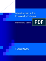 Introducción a los Forward y Futuros