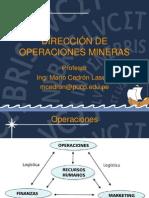 Dirección de Operaciones Mineras