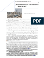 Dubai Metro Technical Inforamtion