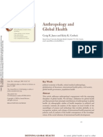 AnthropologAnthropology and Global Health (3)y and Global Health (3)