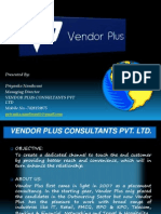 Vendor Plus Ppt