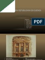 Arquitectura Republicana en Cuenca