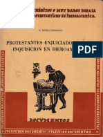 Protestantes enjuiciados porla Inquisición en Iberoamérica