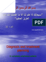 Diagnosis and Treatment Planning for Completly Edentuolous