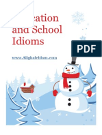 Education and School Idioms