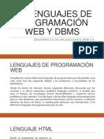 1.3 LENGUAJES DE PROGRAMACION WEB Y DBMS.pptx