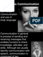 body language and non verbal communication