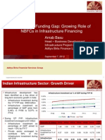 Arnab Basu - Bridging Funding Gap - NBFC in Infra