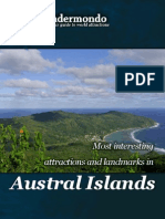 Landmarks and attractions in Austral Islands