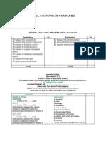 Company BS Format