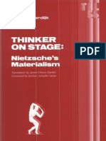 Sloterdijk Peter - Thinker on Stage, Nietzche's Materialism