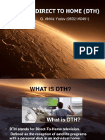 30168069 Power Point Presentation on Direct to Home DTH
