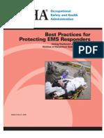 Protecting EMS RespondersSM