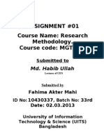 Research Methology