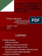 CAPITALUL – FACTOR  DE  PRODUCTIE