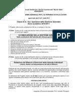 PROGETTO di Contabilità Generale - Classe 3A OGA Anno 2010-2011 - 1^e 2^Fase e Comunicazioni
