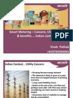 2011 Nov Vivek Pathak Smart Metering Concern Challenges Benefits Indian Context