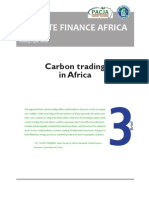 Carbon Trading in Africa