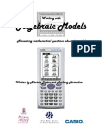Algebraic Models
