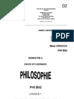 cours philo logique deuxième partie exercices et corrigés