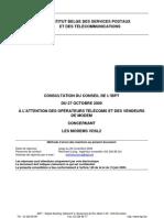 09 RLY WBA VDSL2 Modems Consultatie FR