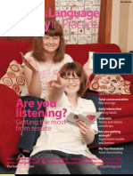 Speech & Language Therapy in Practice, Summer 2008
