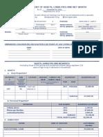 SALN 2013 Form