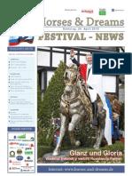 Horses & Dreams meets Russia Turnierzeitung Samstag