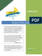 KRIYA Brochure Latest