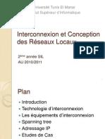 Interconnexion et Conception des Réseaux Locaux