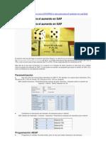 IVA una guía para el aumento en SAP.doc