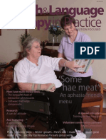 Speech & Language Therapy in Practice, Winter 2006