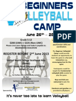 UWC Volleyball Camp